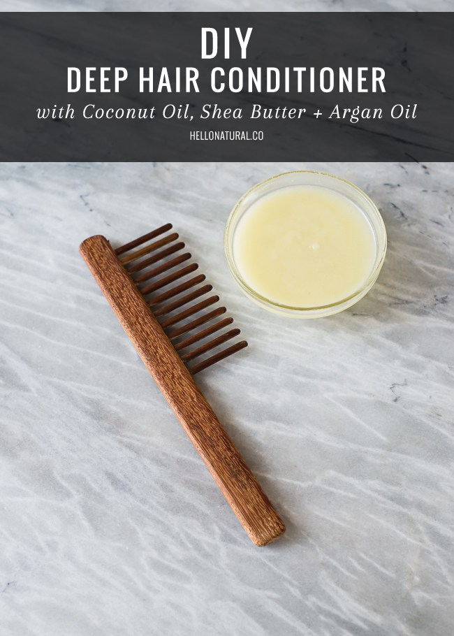 Natural deep hair conditioner