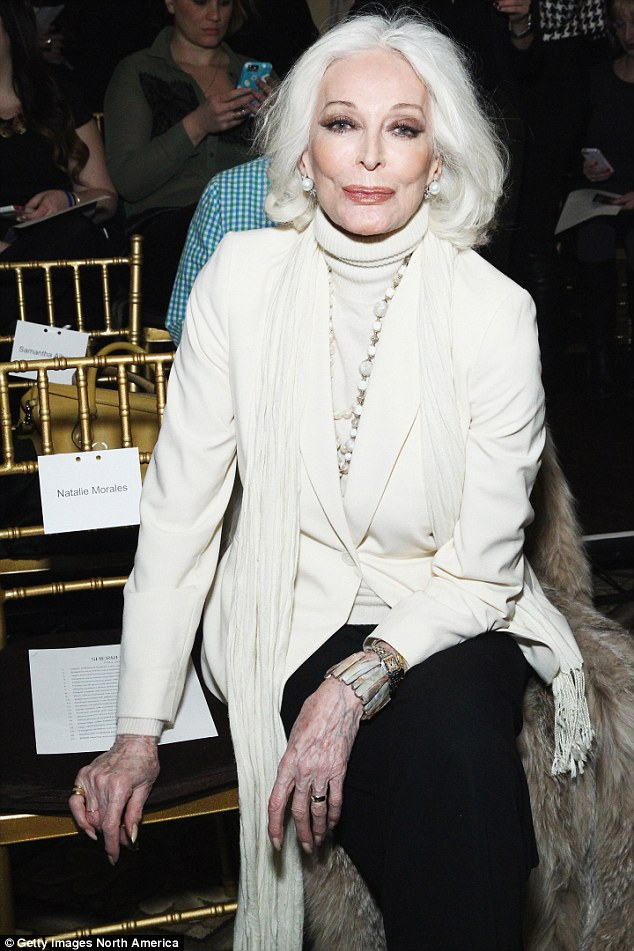 84-year-old Carmen Dell