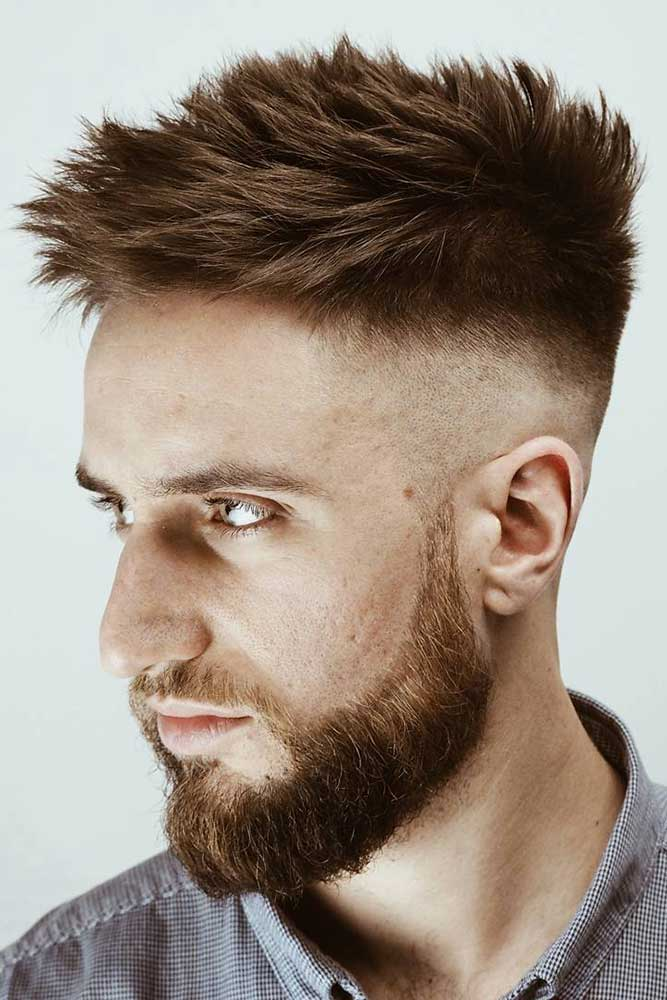 How To Spike Up Your Hair #spikyhair #spikedhair #fade