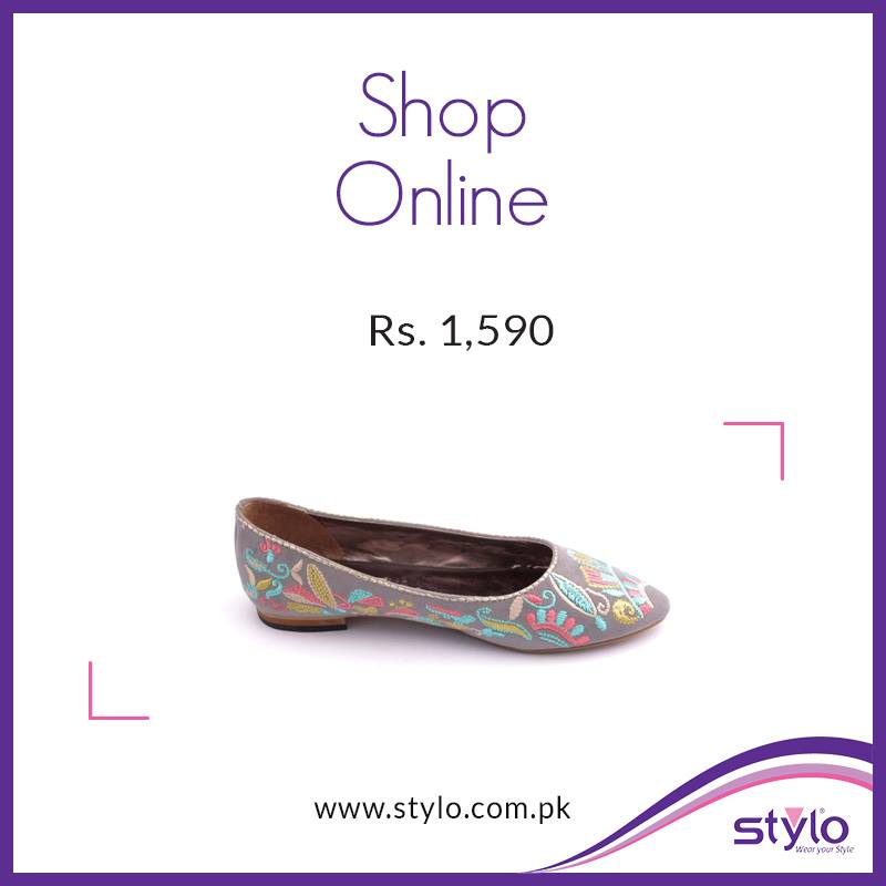 Stylo Shoes Latest Fall Winter Collection 2015 - Trendy Footwear For Women & Kids (11)