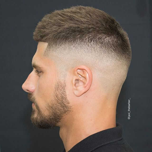 Cool Short Mens Haircut With Fade