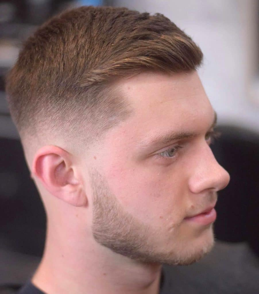 how to style a crew cut